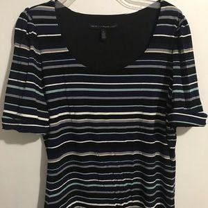 Stretchy Striped Blouse